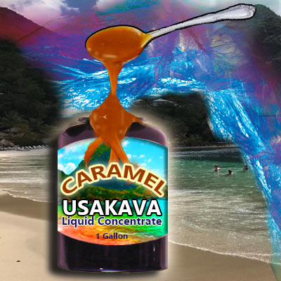 Liquid Concentrates Instant Kava - Caramel - 1 Gallon